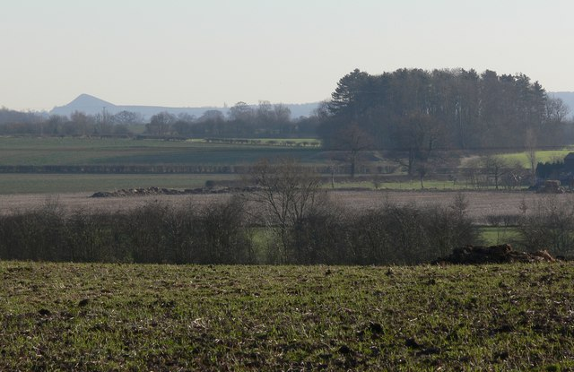 View south across Leicestershire countryside