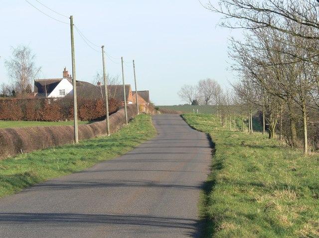 Sibson Road at Cool Hill Farm