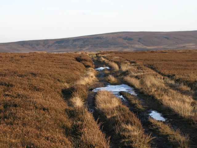 The track below Stobb Cross