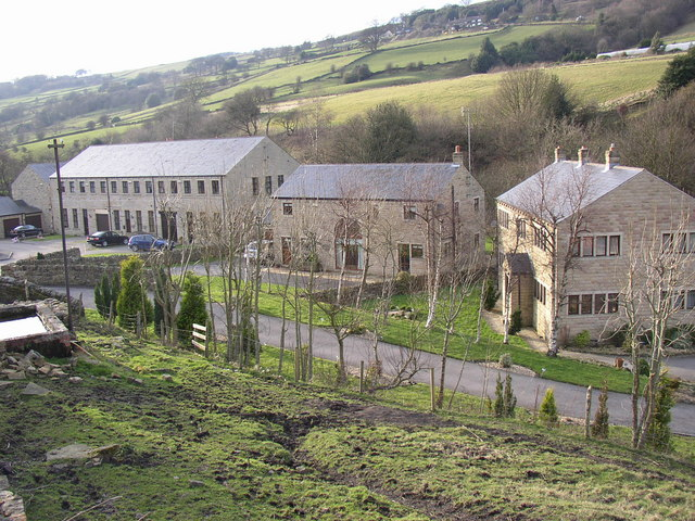 Houses at Upper Firth House Mills, Stainland