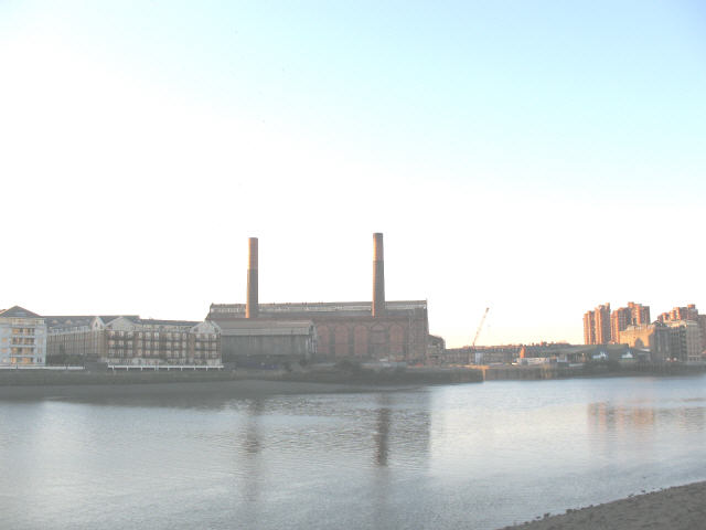 Lots Road Power Station, Chelsea