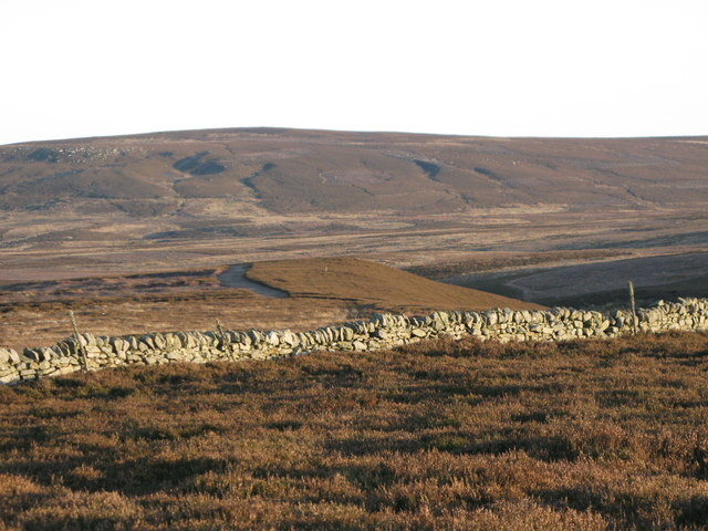 Moorland near the head of Knight's Cleugh