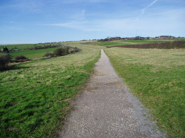 Cycle route to Devil's Dyke