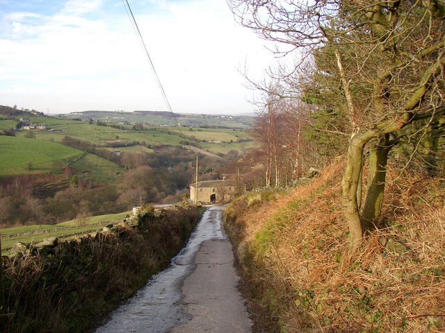 Lane to Spring Fields, Stainland