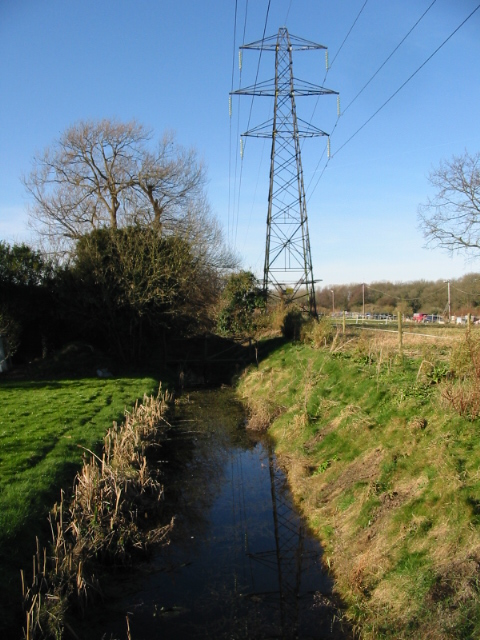 Looking NW from Hay Lane