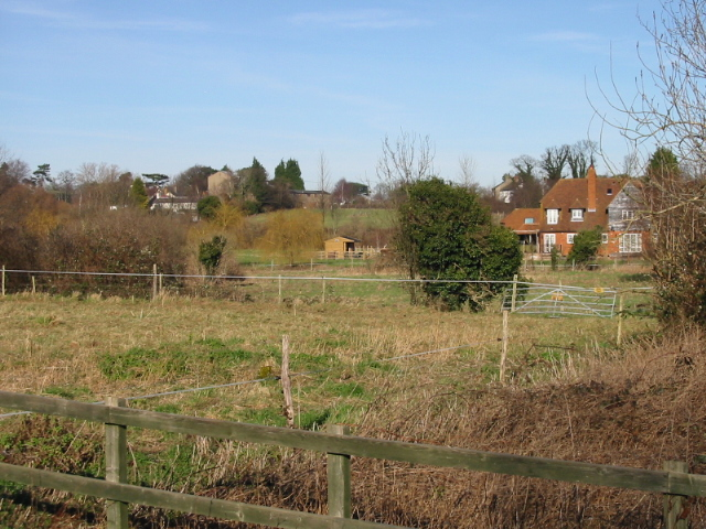 Looking N from Ham Bridge, Hay Lane