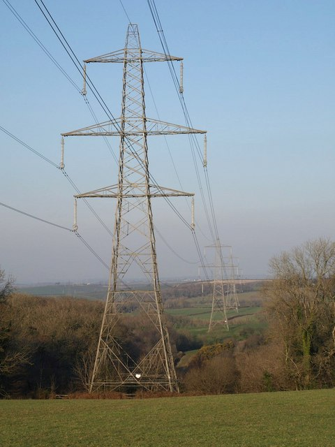 Pylon line, Thorne Wood