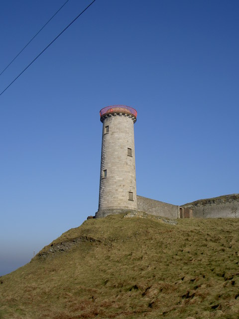 The Front Lighthouse, Wicklow Head.