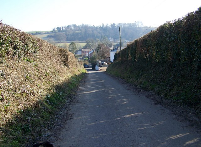 Lane to Lower Woodford