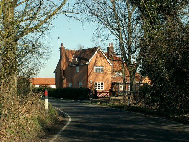 An old house on Mountnessing Lane