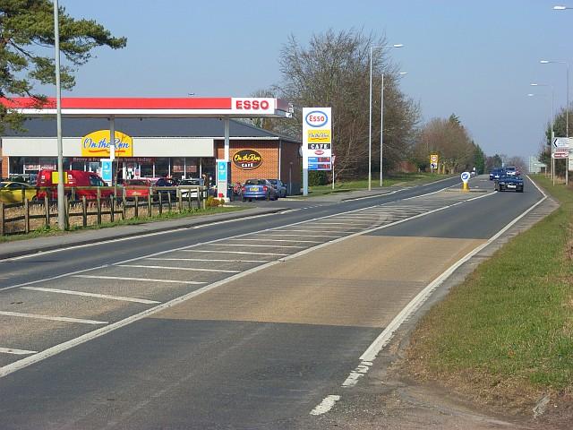 The A346, Chiseldon