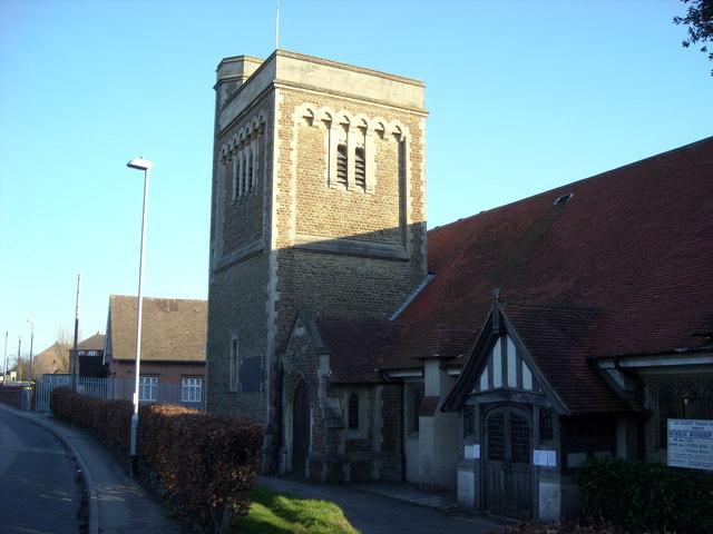 All Saints Church, Sidley