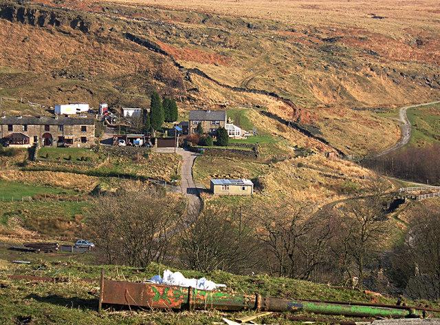 View over Summit, Littleborough