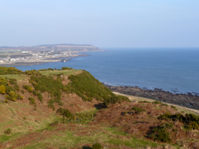 On the cliff walk, near Shandwick