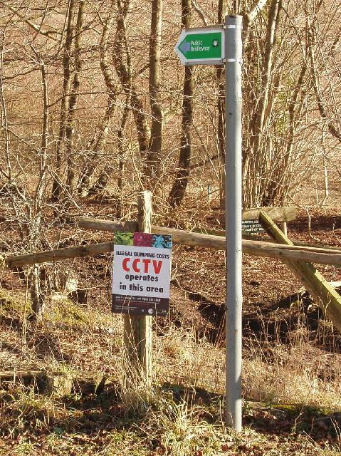 CCTV operates in this area