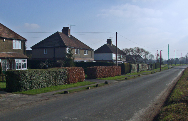 Ellerker Lane, near South Cave