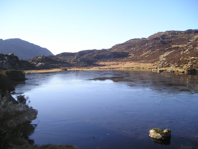 Ice on Innominate Tarn