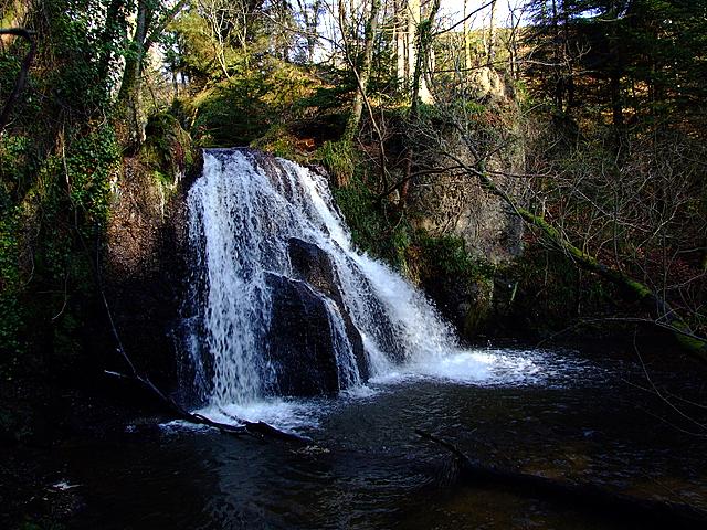 Waterfall in the Fairy Glen