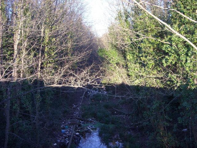 Disused Railway Track, Sidley