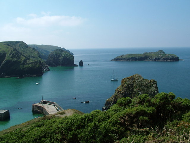 Mullion Cove from Hotel