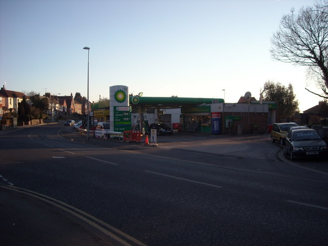 Filling Station, Sidley