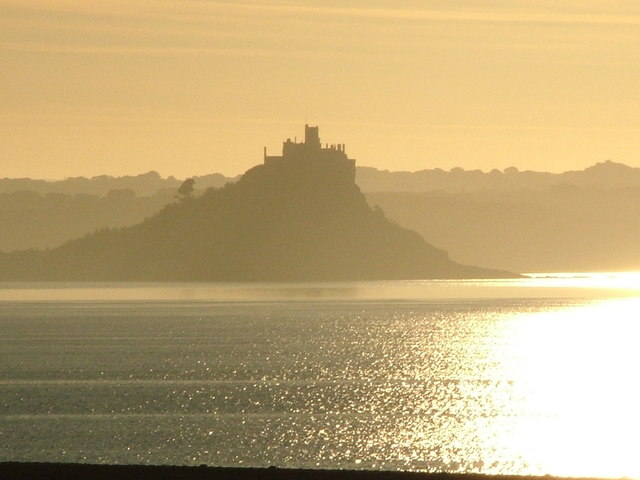 St Michael's Mount from Newlyn