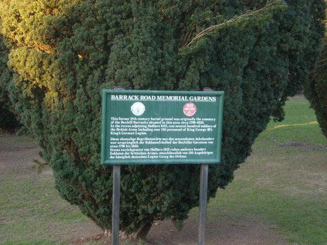 Memorial Gardens, Bexhill-on-Sea