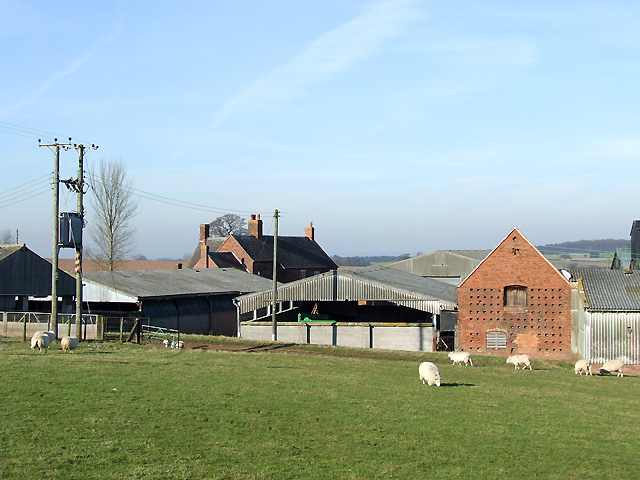 Farm Buildings at Wolmore, Staffordshire