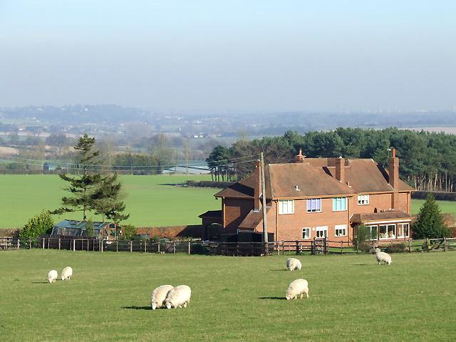Staffordshire Farmland west of Seisdon