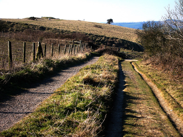 Path to Old Winchester Hill
