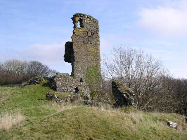 Ardstinchar Castle, Ballantrae