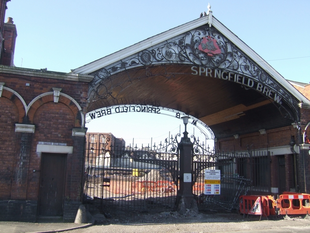 Springfield Brewery Redevelopment - Main Entrance