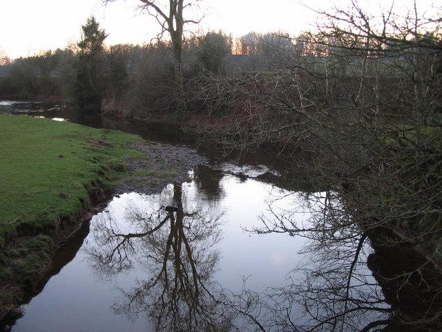 Kirtle Water from Palmersgill Bridge