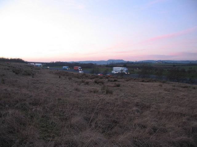 The M74 near Kirtlebridge
