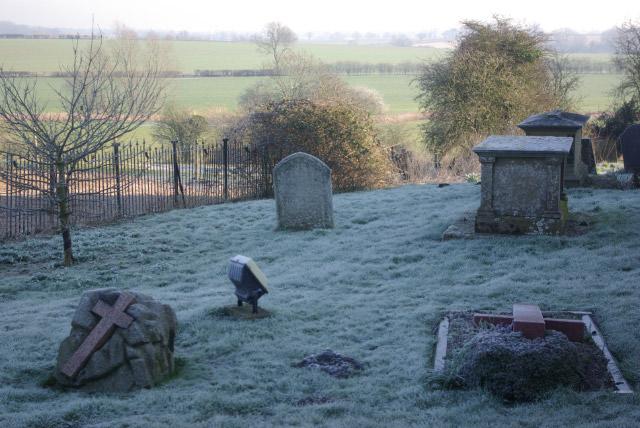 Church Lawford Churchyard