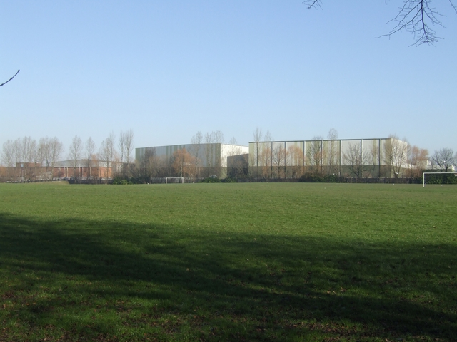 Football pitches on Fowler's Fields