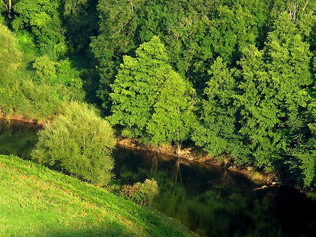 River Wye at Coldwell Rock