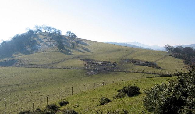 Nick Knolls and adjacent farmland