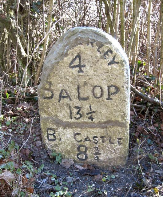Salop Milestone