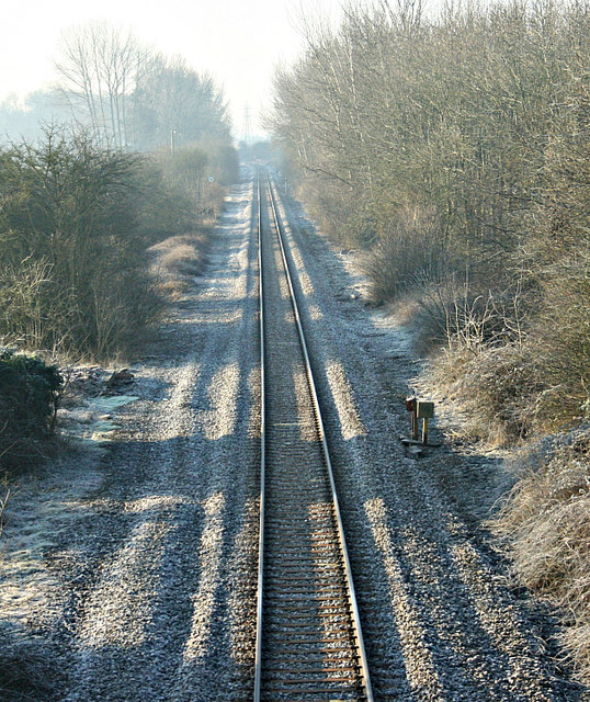 2008 : Chippenham to Melksham Railway near Beanacre