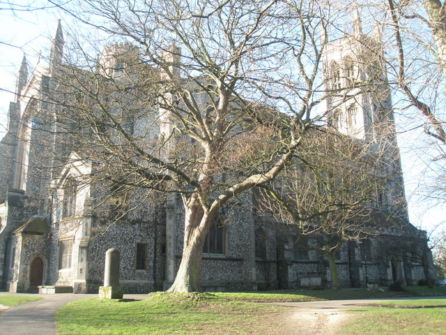 St Mary's Church from St Mary's Road