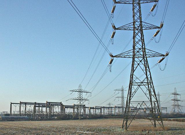 2008 : Electricity Sub Station near Melksham