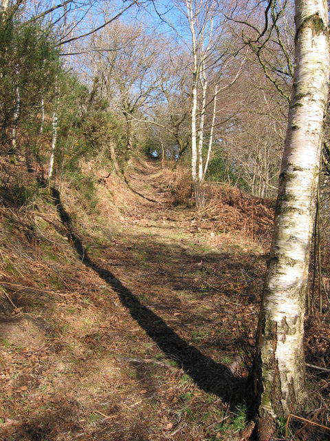 Footpath near Hope Common