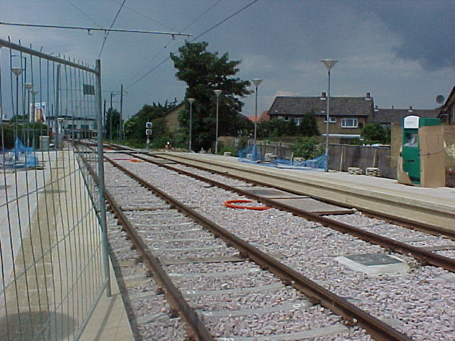 Therapia Lane Tram Stop - under construction