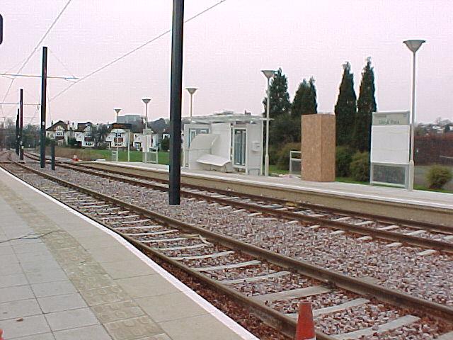 Lloyd Park Tram Stop - under construction