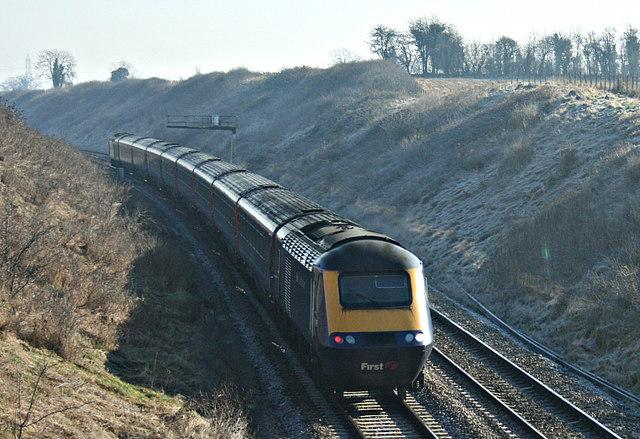2008 : From Ladbrook Lane Bridge