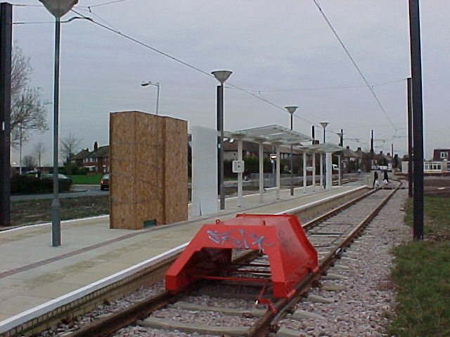 New Addington Tram Stop