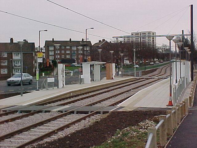 Fieldway Tram Stop