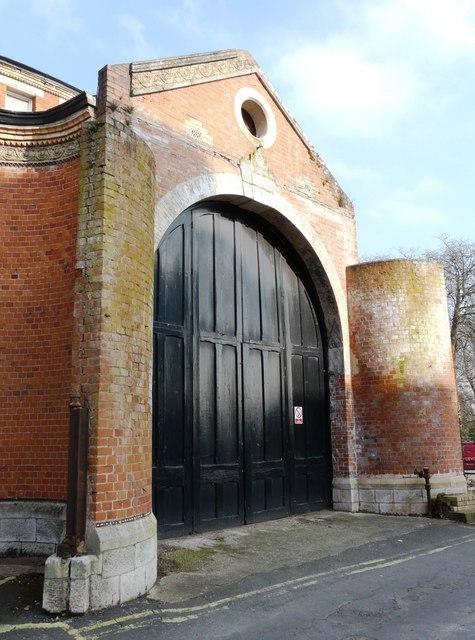 Entrance Door, Rotunda, Oldway mansion, Paignton