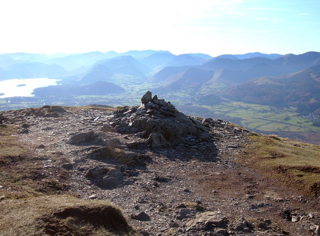 Summit Cairn Ullock Pike